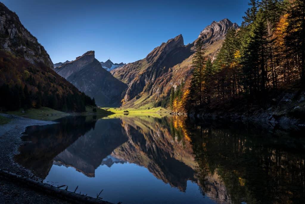 hiking Seealp Lake