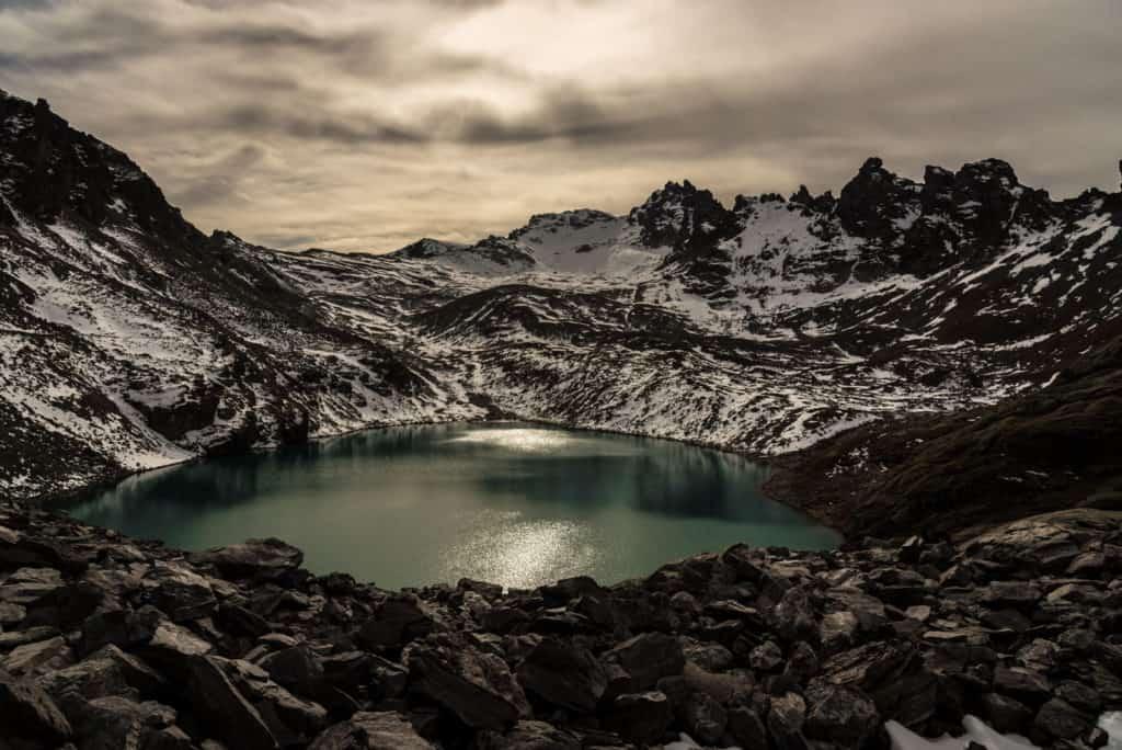 hiking Pizol four lakes
