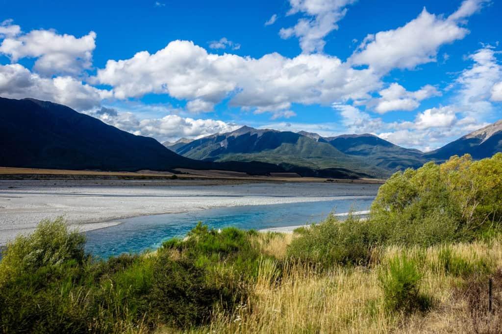 New Zealand train ride with TranzAlpine