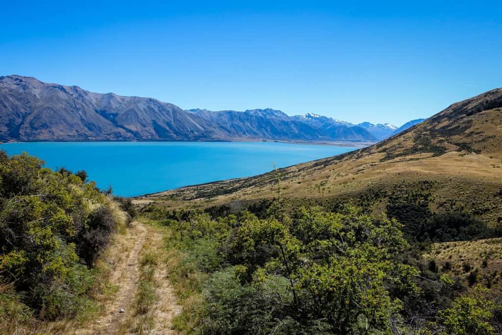New Zealand Lake Ohau