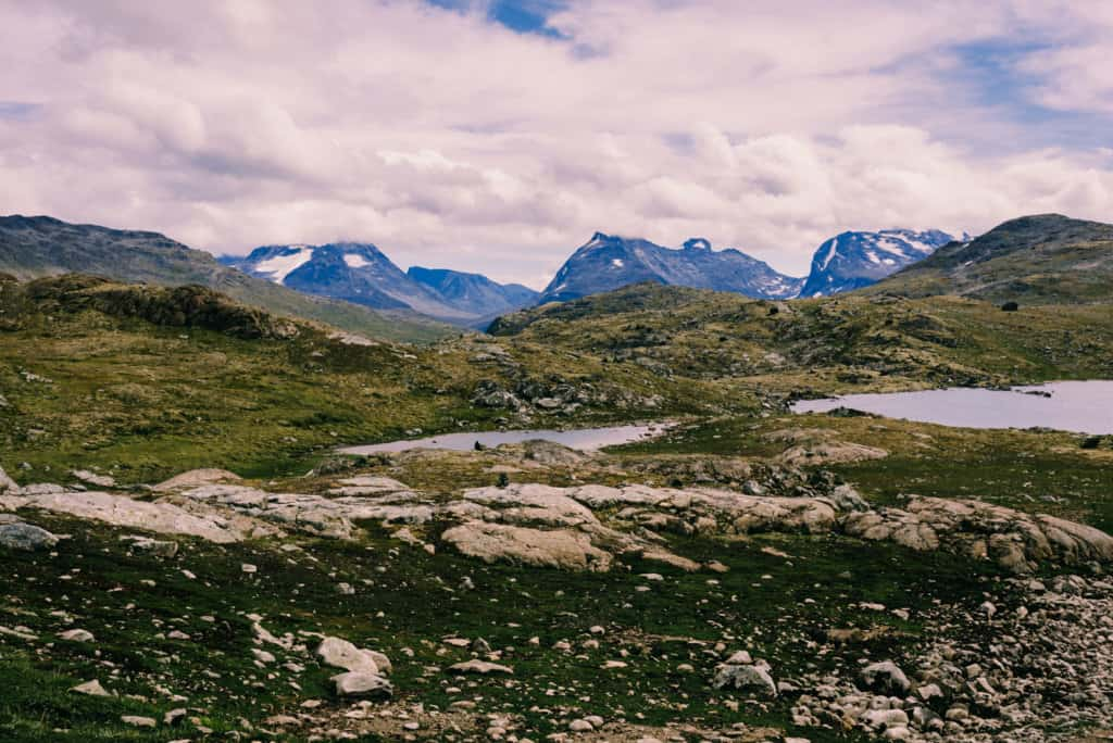 6 days hiking in Jotunheimen National Park in Norway – part