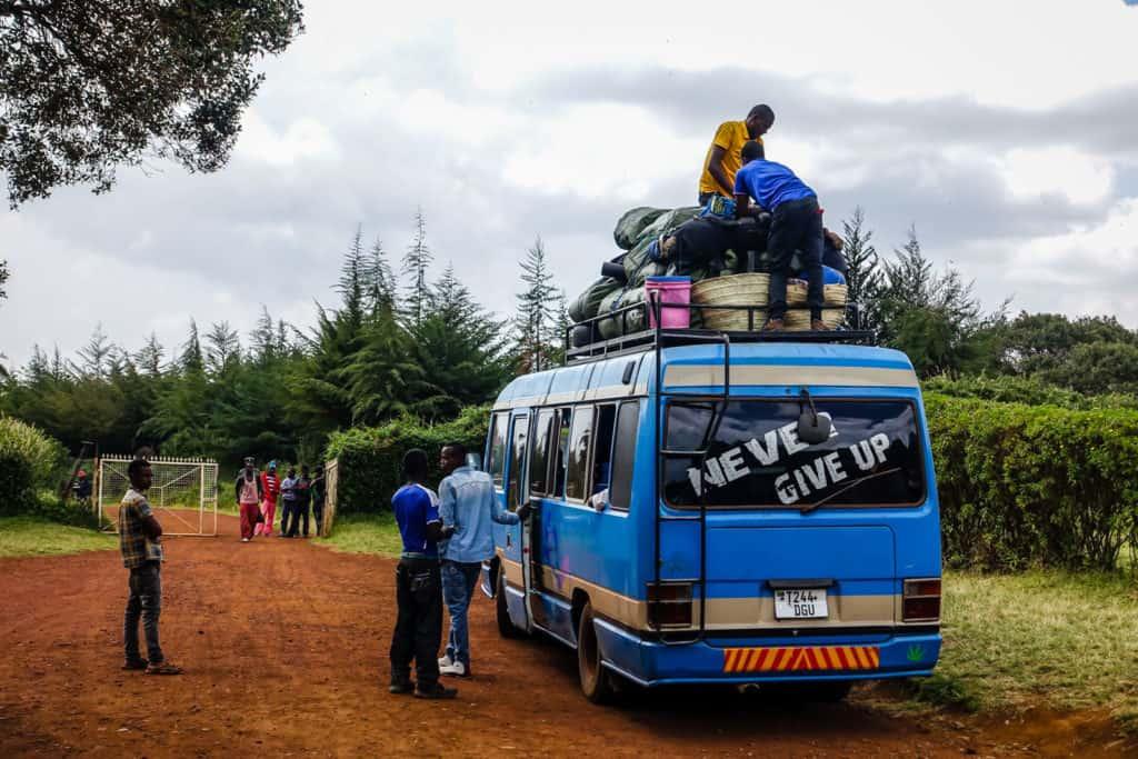 Kilimanjaro hike Lemosho route